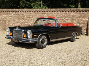 Mercedes Benz 280SE 3.5 Convertible Matching numbers