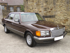 1981 Mercedes W126 500SEL - 1 P/Onr - 63K Miles - FMBSH 36 Stamps For Sale