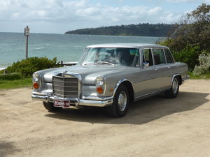Mercedes Benz 600 Grosser SWB 1972 model LHD