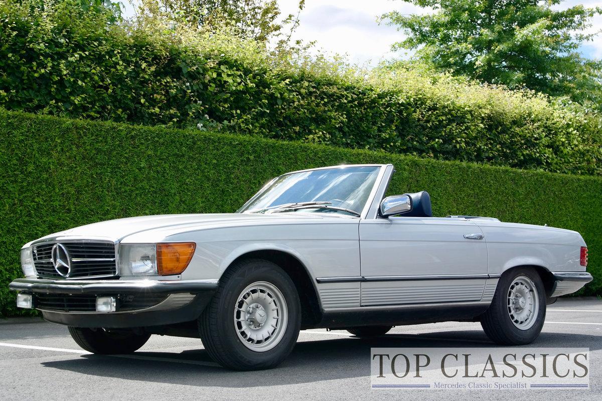 1984 Mercedes 380 SL Original, never restored! For Sale (picture 1 of 6)