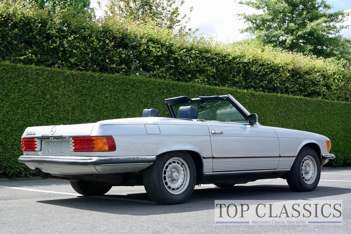 1984 Mercedes 380 SL Original, never restored! For Sale (picture 2 of 6)