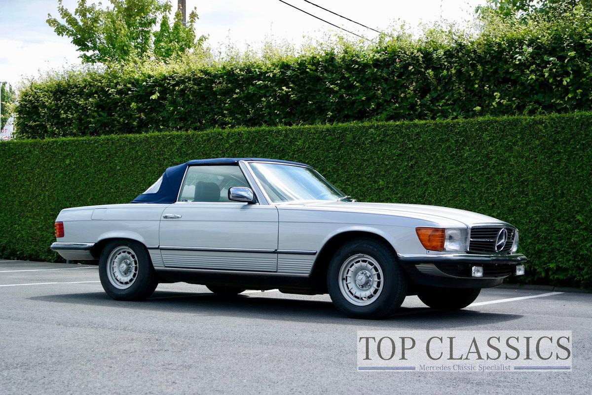 1984 Mercedes 380 SL Original, never restored! For Sale (picture 3 of 6)