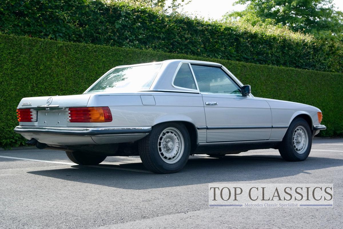 1984 Mercedes 380 SL Original, never restored! For Sale (picture 4 of 6)