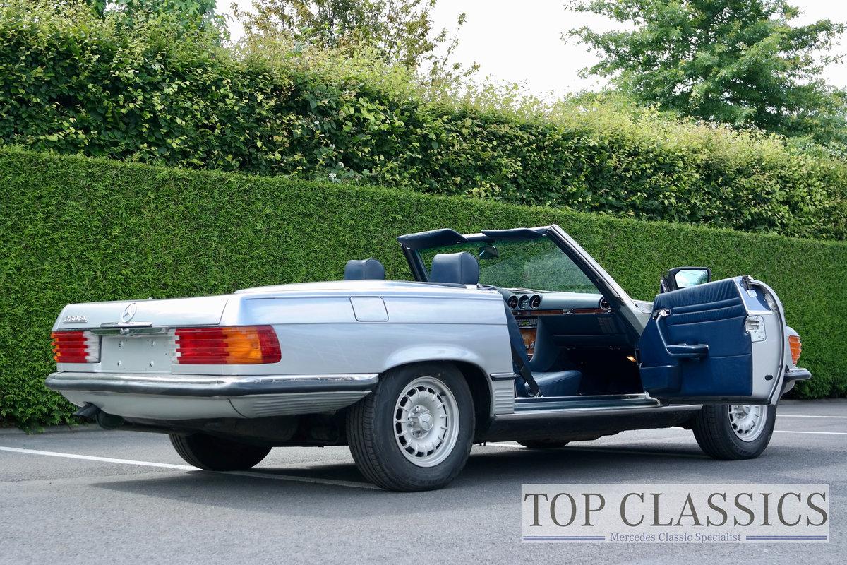 1984 Mercedes 380 SL Original, never restored! For Sale (picture 5 of 6)