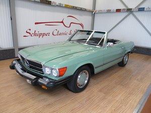 1975 Mercedes 450SL Schilfgrün For Sale