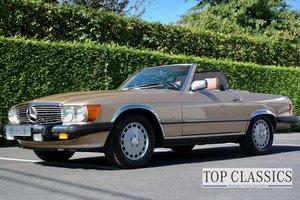 1986 Mercedes 560SL SOLD
