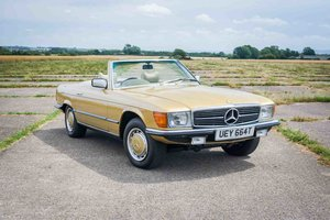 1978 Mercedes R107 350SL - Icon Gold - 2 Owners - Immaculate For Sale