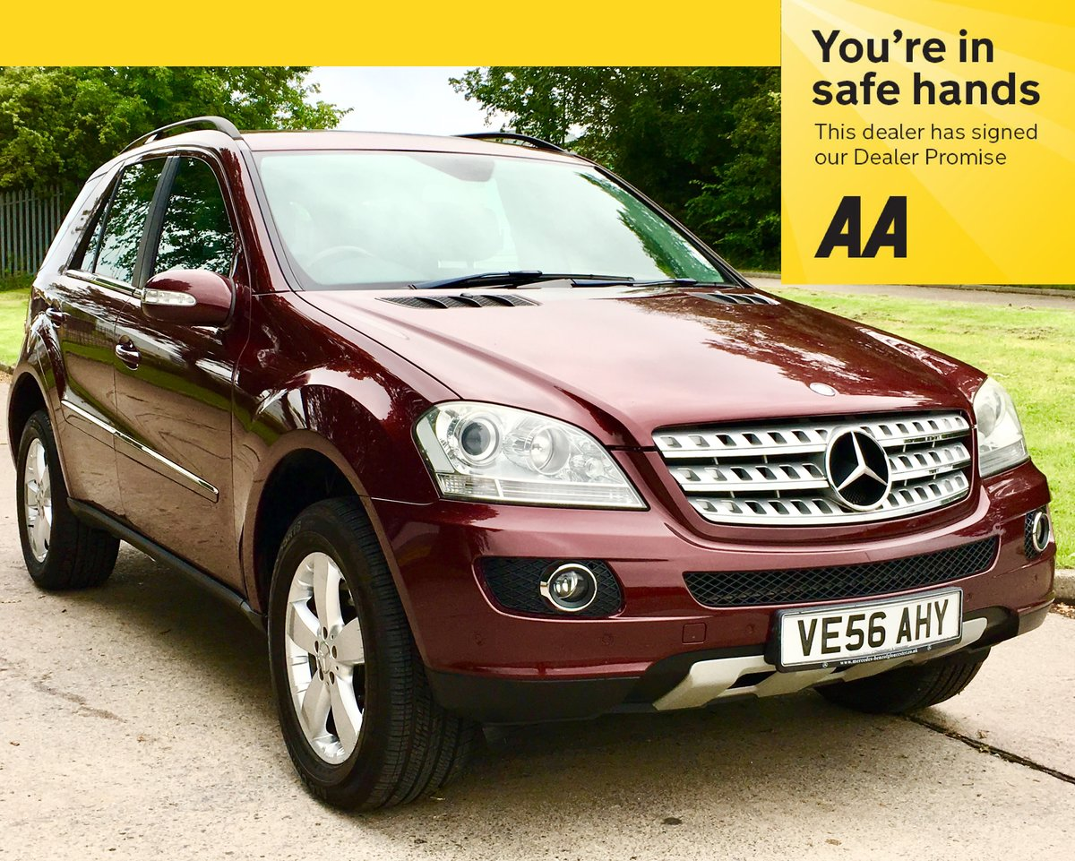 2006 Mercedes ML500 V8 - 59,400 miles - Excellent Example For Sale (picture 1 of 6)