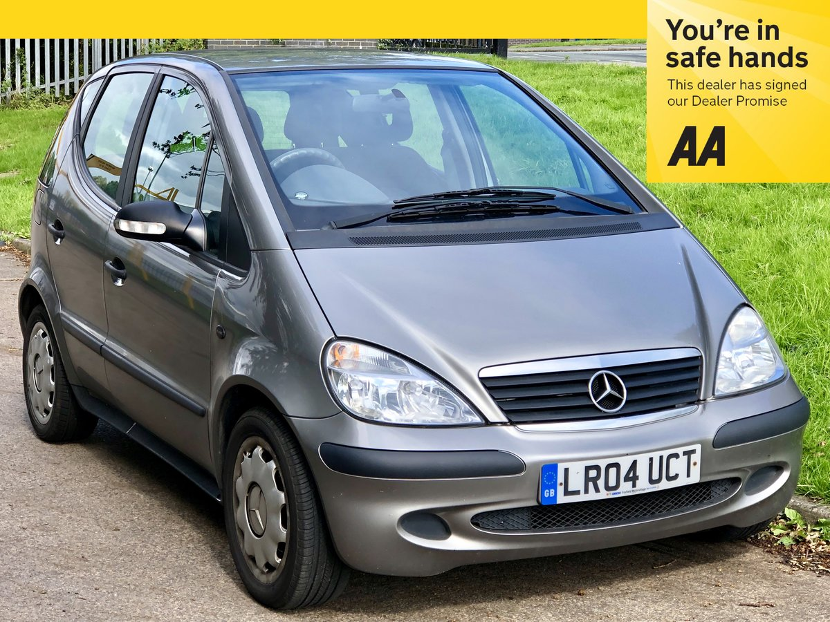 2004 Mercedes A140 Classic SE - Low Miles - COLD A/C For Sale (picture 1 of 6)