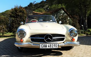 1958  190SL Merc Rare Fully Restored