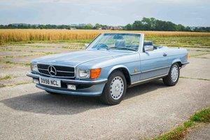 1986 Mercedes R107 420SL - Diamond Blue - 98k - FSH - Superb For Sale