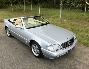 1999 Mercedes Benz SL320 - 33k miles, FSH - RESERVED. For Sale