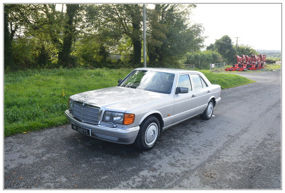 1989 Mercedes 300SE low mileage car for sale For Sale (picture 1 of 6)