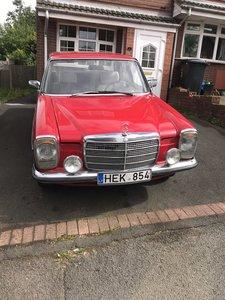 1968 Mercedes benz w115