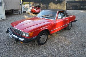 1981 Mercedes Benz 380SL SOLD