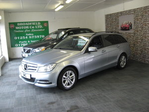 2012  62-reg Mercedes Benz C220 CDI Executive SE Auto Estate