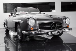 1963 Mercedes-Benz 190 SL Roadster in Anthracite Grey by Hemmels