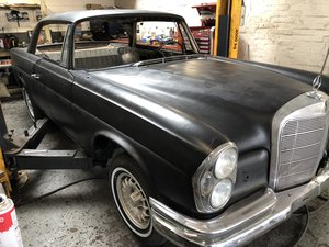 1965 Mercedes 220se For Sale