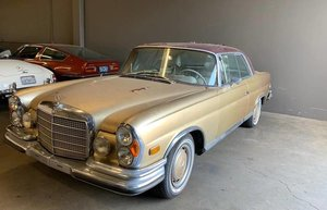 1971 Mercedes 280 SE Sunroof Coupe 3.5 = Project Tan $37.5k
