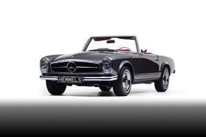 1969 Mercedes-Benz 280 SL Pagoda in Anthracite Grey by Hemmels For Sale
