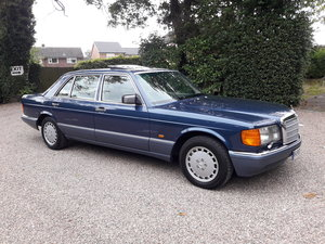 1991 Mercedes benz 500sel w126 For Sale