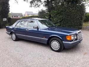 1991 Mercedes benz 500sel w126