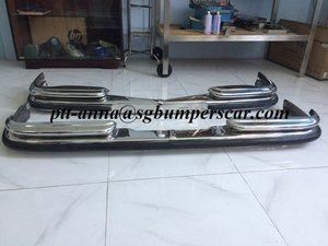 Mercedes Benz W108/W109 Stainless Steel Bumper