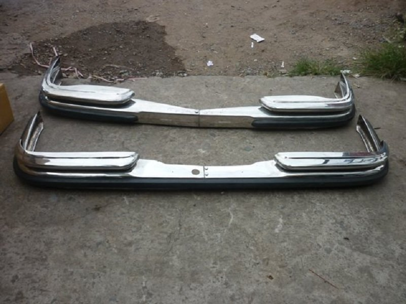 Mercedes Benz W108/W109 Stainless Steel Bumper For Sale (picture 2 of 4)