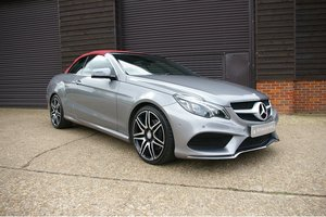 2014 Mercedes-Benz E350 CDI AMG Sport Cabriolet (51,934 miles) SOLD