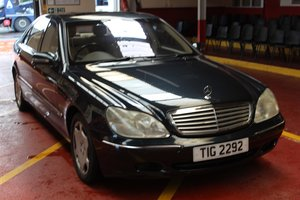 Mercedes S600 Auto 2000 - To be auctioned 25-10-19 For Sale by Auction