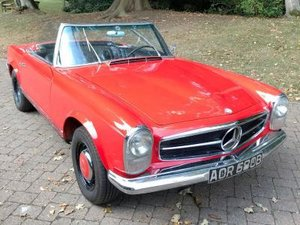 1964 Mercedes-Benz 230 SL For Sale by Auction