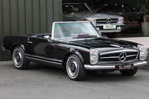 1968 Mercedes-Benz 280SL Pagoda (W113) #2168 Triple Black For Sale