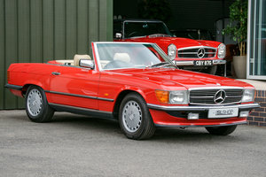 1988 Mercedes-Benz 300SL (R107) #2153 40k miles Beige Interior For Sale