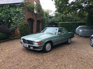 Picture of Mercedes 300SL W107 1988 low mile one owner  SOLD