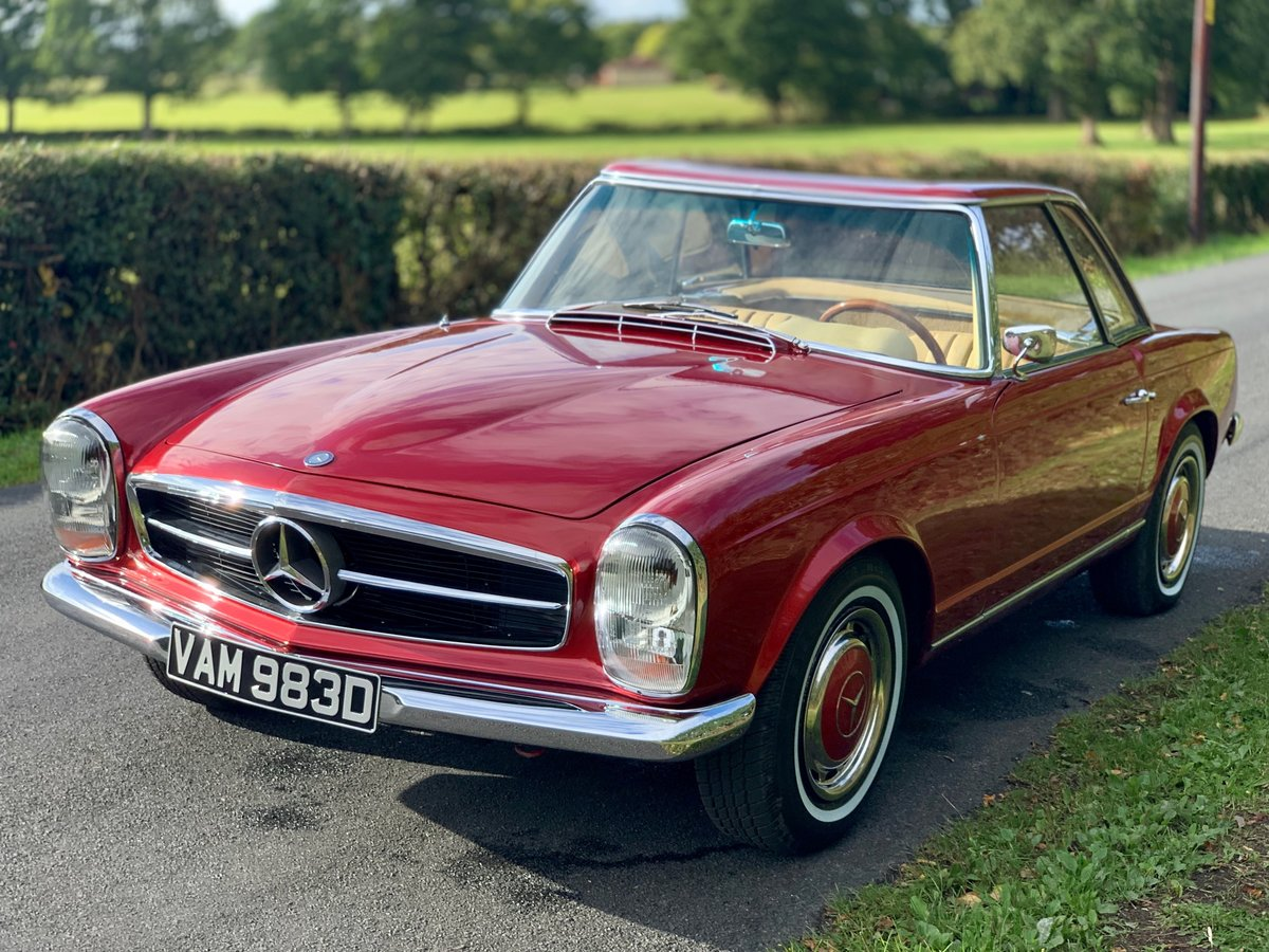 1966 Mercedes benz 230sl Pagoda w113 For Sale (picture 1 of 6)