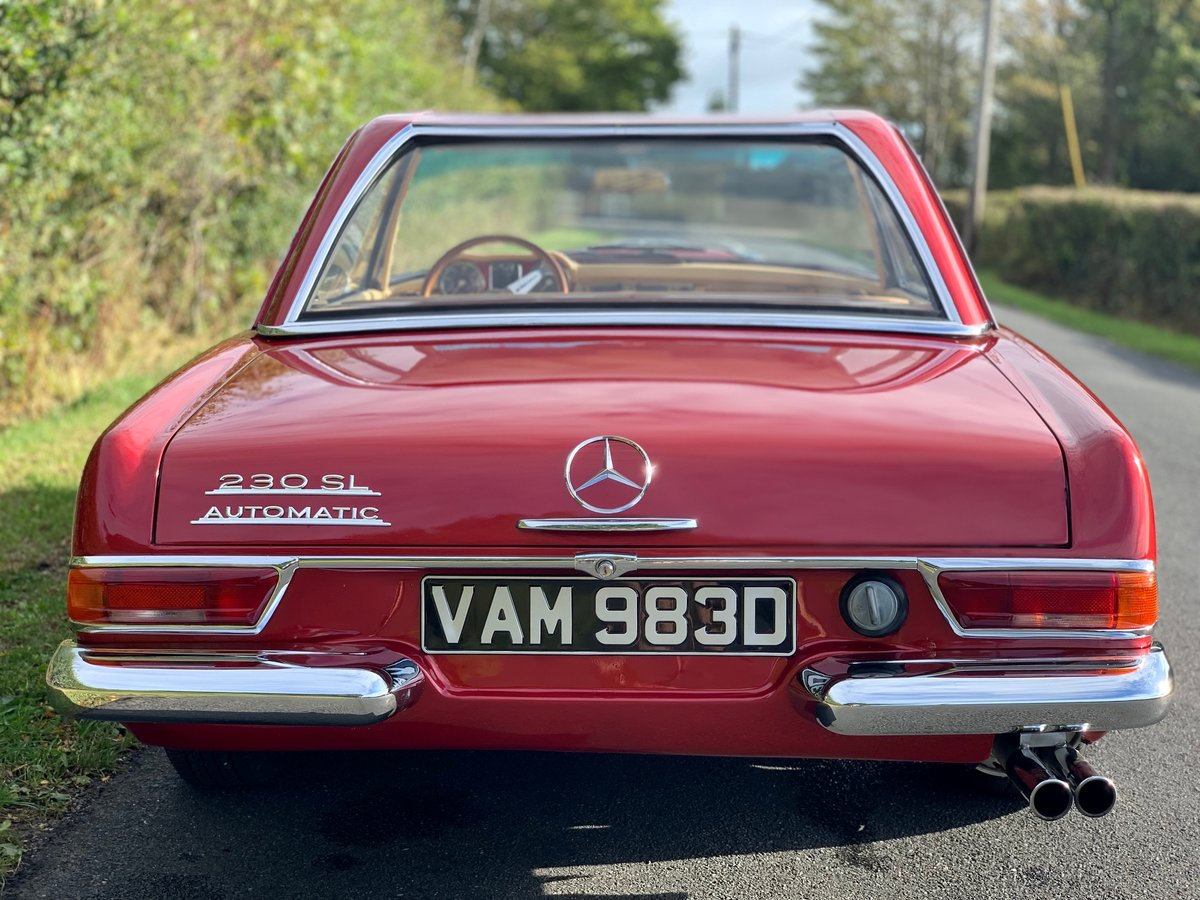 1966 Mercedes benz 230sl Pagoda w113 For Sale (picture 3 of 6)