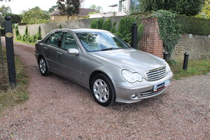 2006 C230 Elegance SE Automatic, Low Mileage & Keepers From New SOLD