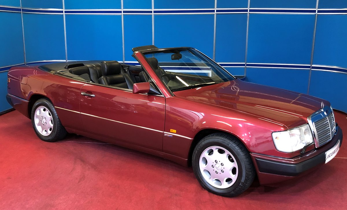 1993 Mercedes 320CE Sportline Cabriolet For Sale (picture 1 of 6)
