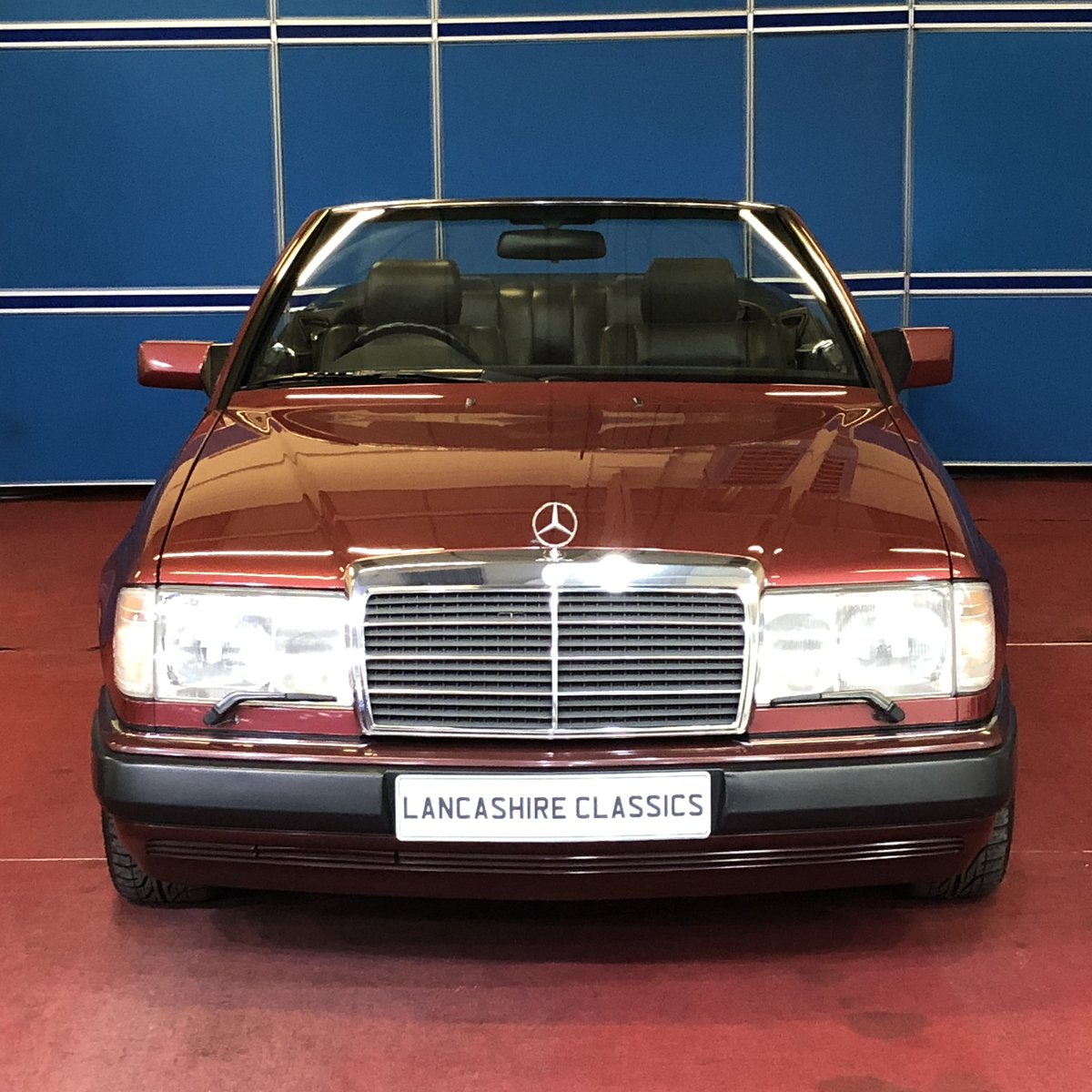 1993 Mercedes 320CE Sportline Cabriolet For Sale (picture 3 of 6)