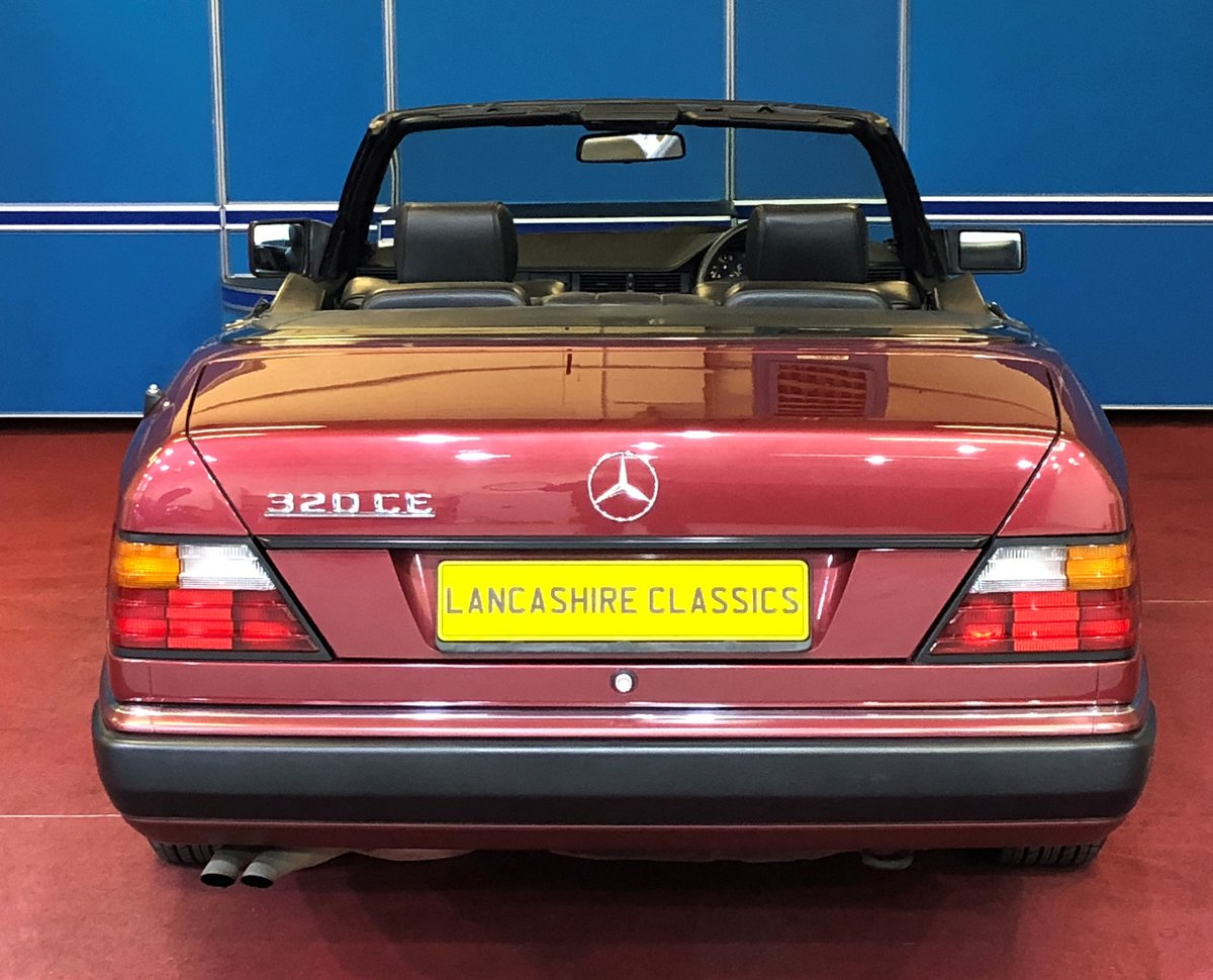 1993 Mercedes 320CE Sportline Cabriolet For Sale (picture 4 of 6)