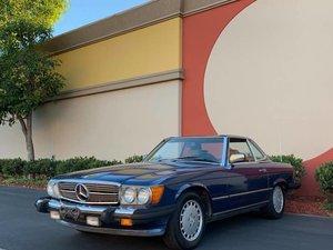 1986 Mercedes 560SL  Auto clean Blue(~)Tan driver $13.9k For Sale