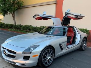 2012 Mercedes SLS AMG Coupe Rare Seat Color Combo $124.5k For Sale