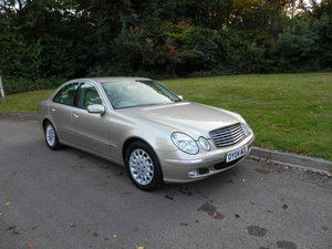 2004 Mercedes E320 CDi Elegance. Tip Auto. FSH. Bargain To Clear. SOLD