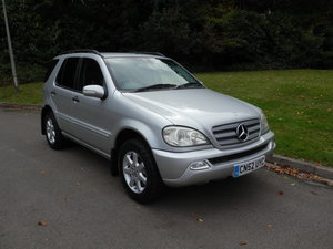 2002 Mercedes ML270 CDi. Tip Auto. Hi Spec. Bargain To Clear. SOLD