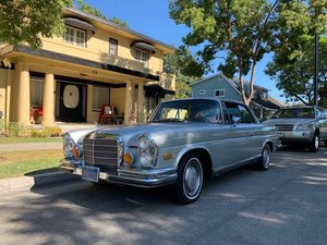1971 Mercedes 280SE 3.5 Coupe Auto Silver 4.5k miles  $67.5k For Sale