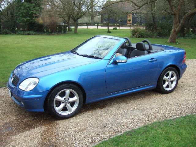 2002 Mercedes SLK320 V6 Convertible For Sale | Car And Classic