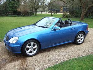 2002 Mercedes SLK320 V6 Convertible  For Sale