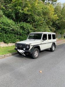1989 G Wagon / Wagen White