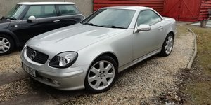2002 Mercedes SLK320 in Glasgow