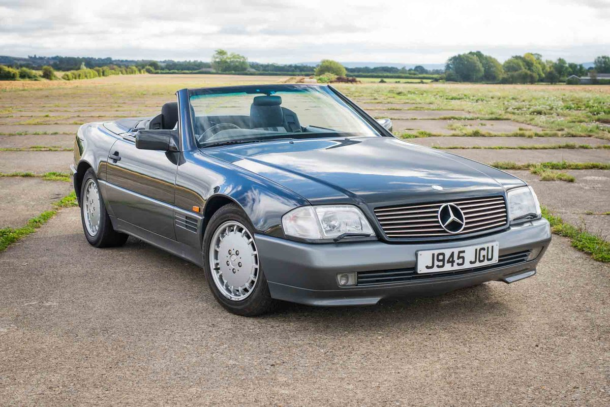1992 Mercedes R129 500SL - Only 43k Miles - 12 months MoT For Sale (picture 1 of 6)
